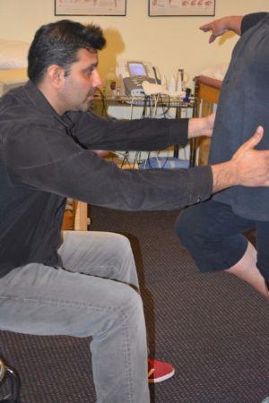Sanjay balancing patient