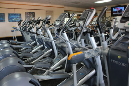 Elliptical machines at El Gancho